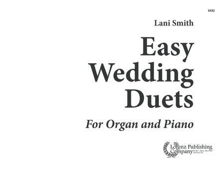 Easy Wedding Duets