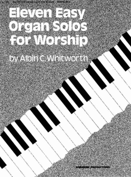 Eleven Easy Organ Solos for Worship