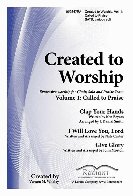 Preview Created To Worship Vol 1 By Vernon M Whaley Lo10 2367ra