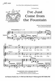 I've Just Come from the Fountain