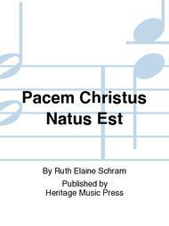 Pacem Christus Natus Est
