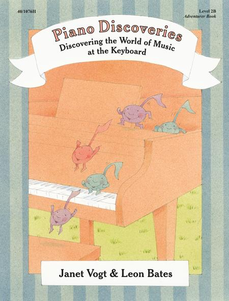 Piano Discoveries Piano Book 2B