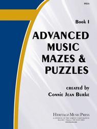 Advanced Music Mazes & Puzzles, Book I