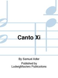 Canto Xi