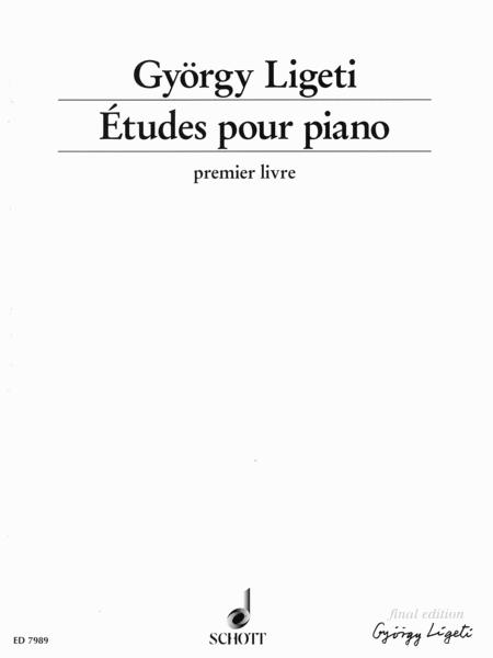 Etudes for Piano - Volume 1