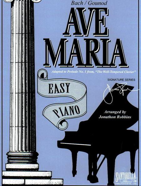 Ave Maria for Easy Piano * Bach - Gounod