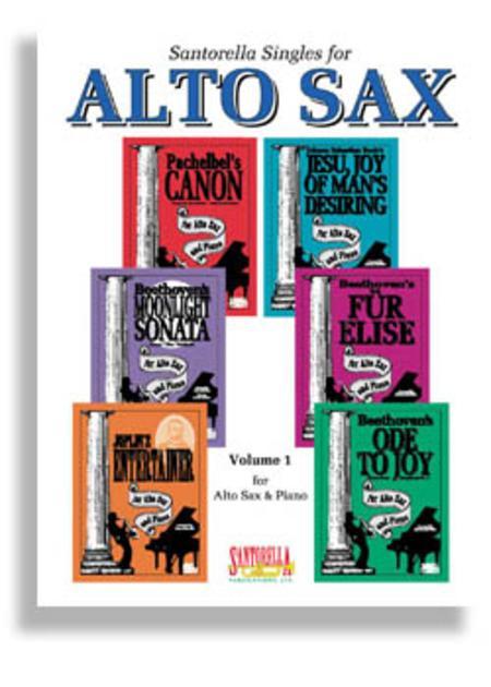 Santorella Singles for Alto Sax & Piano