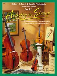 Artistry In Strings, Book 1 - Cello (Book & 2-CD)