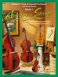 Artistry In Strings, Book 1 - Viola (Book & 2-CD)