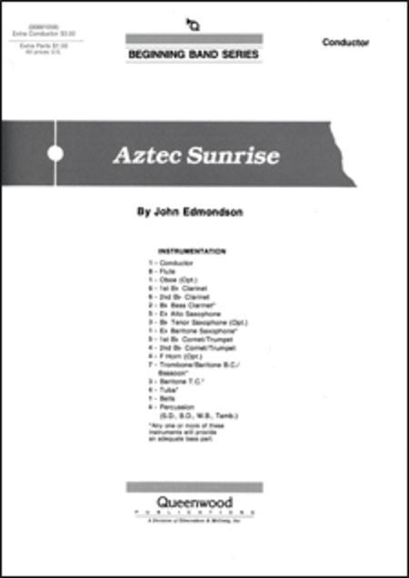 Aztec Sunrise - Score