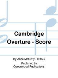 Cambridge Overture - Score