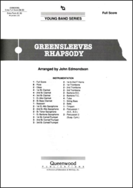 Greensleeves Rhapsody - Score
