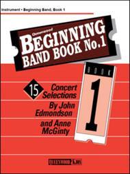 Beginning Band Book No. 1 - Bass Clarinet