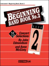 Beginning Band Book No. 2 - Alto Saxophone