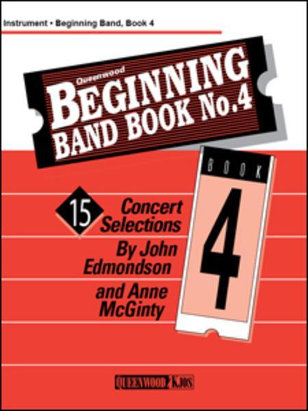Beginning Band Book No. 4 - Tenor Saxophone
