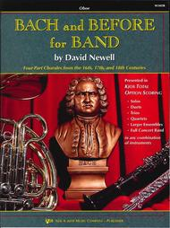 Bach and Before for Band - Oboe