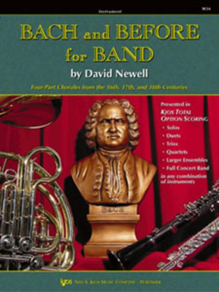 Bach and Before for Band - Baritone T.C.