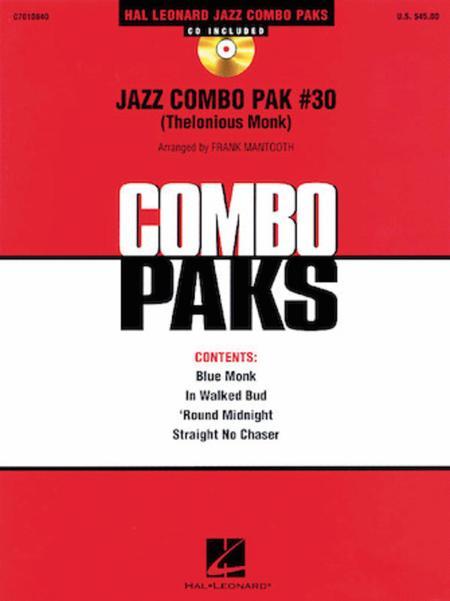 Jazz Combo Pak #30 (Thelonious Monk)