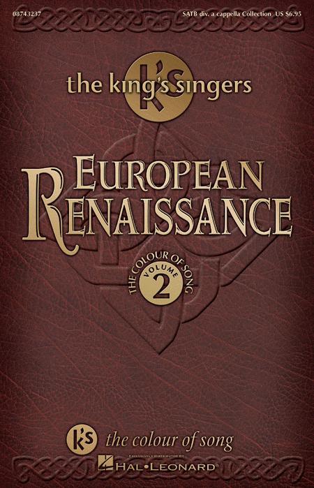 European Renaissance (Collection - The Colour of Song, Vol. 2)