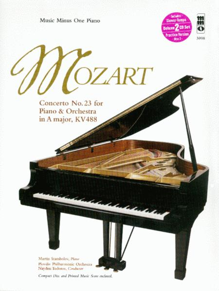 Concerto No. 23 in A major, KV488 (2 CD set)