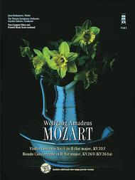 Mozart - Violin Concerto No. 1 in B-flat Major, KV207 & Rondo Concertant in B-flat Major, KV269