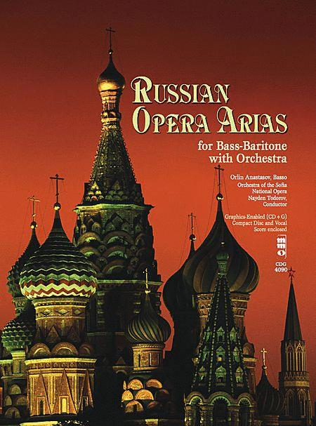 Russian Opera Arias For Bass-Baritone With Orchestra