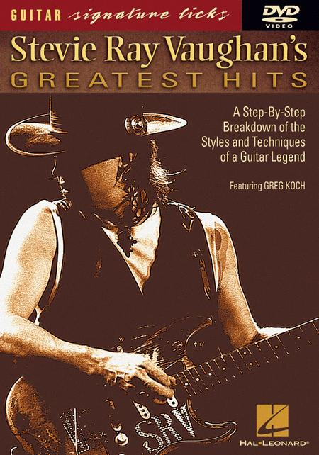 preview stevie ray vaughan 39 s greatest hits dvd by stevie ray vaughan sheet music. Black Bedroom Furniture Sets. Home Design Ideas