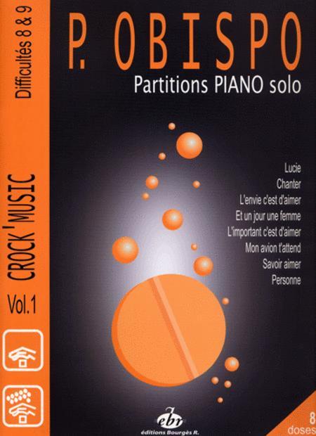 Recueil Crock Music Volume 1 Difficulty 7/8/9 (Pascal Obispo)
