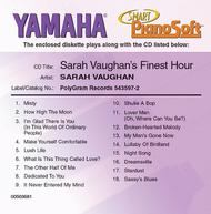 Sarah Vaughan's Finest Hour - Piano Software