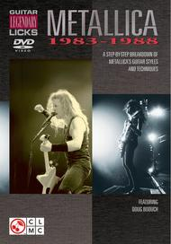 Guitar Legendary Licks 1983-1988 - DVD 					A Step-by-Step Breakdown of Metallica's Guitar Styles and Techniques 					 By Metallica