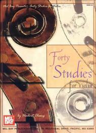 Forty Studies for Violin