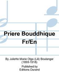 Priere Bouddhique Fr/En