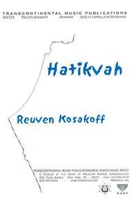 Hatikvah (The National Anthem Of Israel) (SATB)