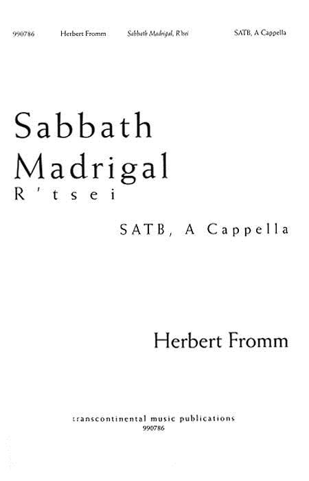 Sabbath Madrigal