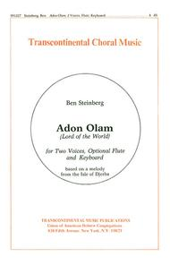 Adon Olam (Lord Of The World)
