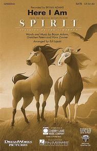 Here I Am (from Spirit: Stallion of the Cimarron) - ShowTrax CD