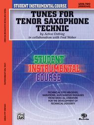 Student Instrumental Course Tunes for Tenor Saxophone Technic