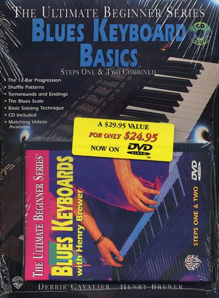Ultimate Beginner Series - Blues Keyboard Mega Pack - DVD