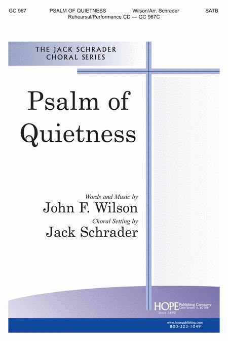Psalm Of Quietness