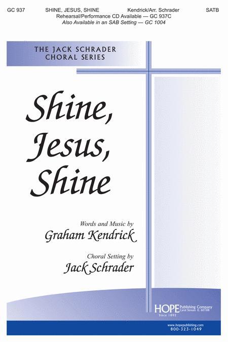 Shine, Jesus, Shine Sheet Music By Graham Kendrick - Sheet Music Plus
