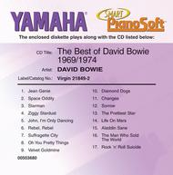 The Best of David Bowie - 1969-1974 - Piano Software