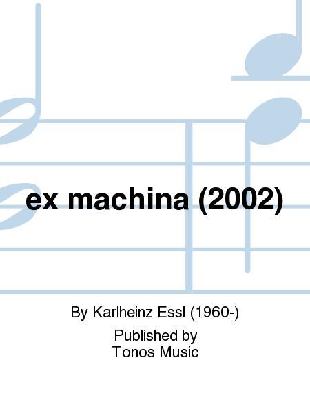 ex machina (2002)