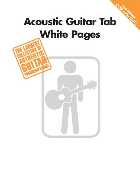 Acoustic Guitar Tab White Pages Sheet Music By Various - Sheet Music ...