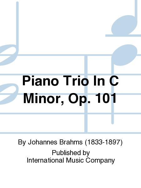 Piano Trio In C Minor, Op. 101