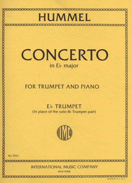 Concerto in Eb Major, S. 49 - Eb Trumpet