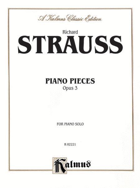 Piano Pieces, Op. 3