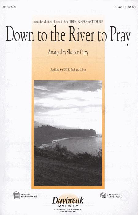 Down To The River To Pray - 2-Part Sheet Music By Sheldon Curry ...