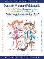 Duets for Violin and Cello for Beginners - Volume 1