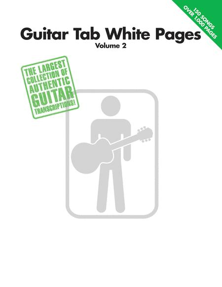 Guitar Tab White Pages - Volume 2 Sheet Music By Various - Sheet