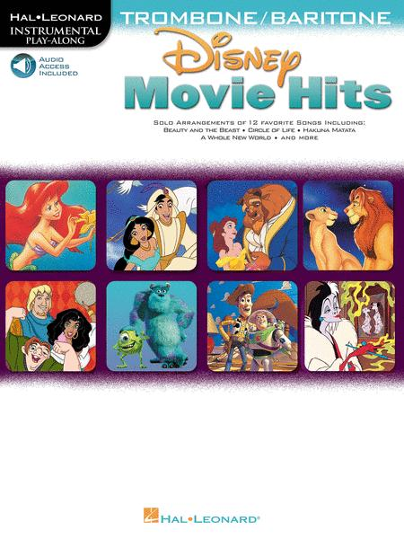 Disney Movie Hits for Trombone/Baritone B.C.